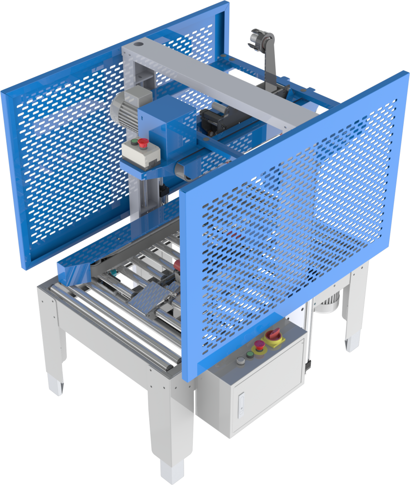 MH-FJ-2 Semi-automatic carton sealer